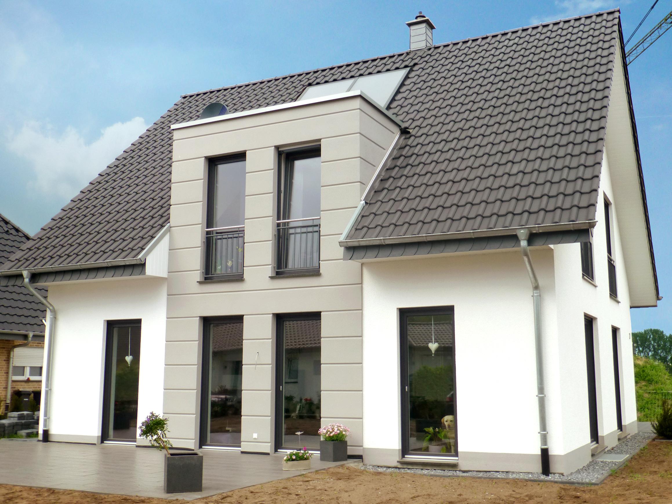 Modernes Einfamilienhaus Satteldach vorderbrüggen bau gmbh